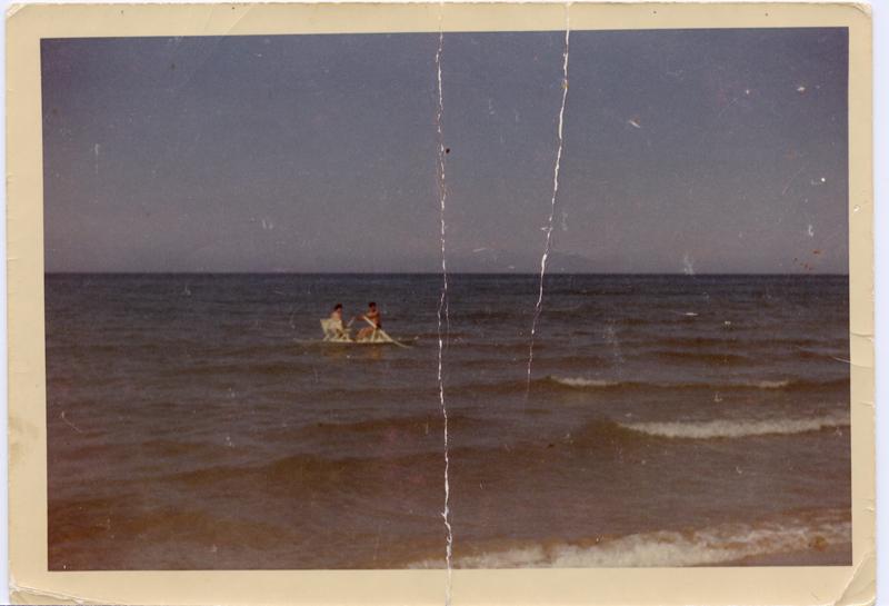 Una delle prime foto di termoli a colori, anno 1961